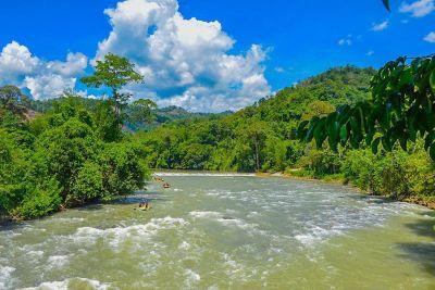 Kiulu River rafting Cycling Kota Kinabalu